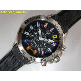 Relógio Náutica Hour Flag A24520g Cronógrafo Calendário