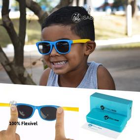 Óculos Sol Infantil Flexível Não Quebra Criança Original 228. 5 cores. R  89 3a8cc9f959
