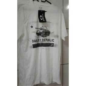 4ce6e1828f Camiseta Oakley Republic Kanui Camisetas - Camisetas e Blusas no ...