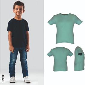 Molde Camiseta Básica Infantil Masculina Com Peça Piloto