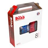 Kit Boss De Instalación Para Amplificador De 8 Gauge