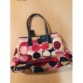 cd04a740621d7 Cartera Coach Original Color Azul Mujer - Carteras en Mercado Libre ...