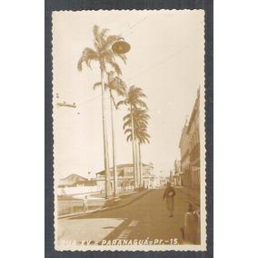 Postal Foto Brasil 15 Paranaguá Rua Quinze Anos 50