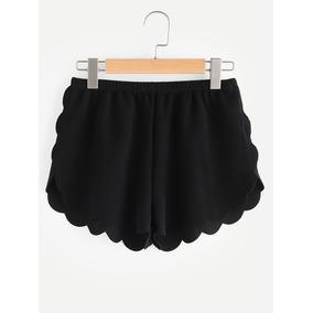Short Negro Short Mujer Shorts Mujer Shorts Dama Ropa Mujer