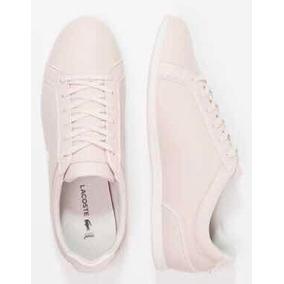 Tenis Lacoste Para Dama Estilo Casual Mod. Rey Lace 417 Pink