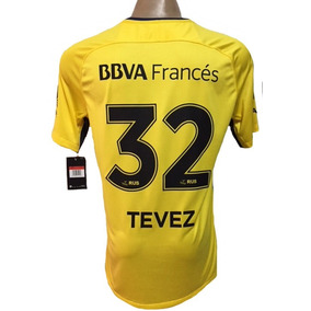 Camiseta Boca Tevez - Camisetas de Clubes Nacionales Adultos Boca en ... 4e53f4c9e73e8