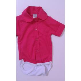9c03e00ce23a Camisa Social Slim Rosa Bebe - Bebês no Mercado Livre Brasil