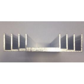 Dissipador Aluminio Trocador De Calor Amplificador Led