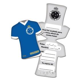 Convite Cruzeiro 8 Unidades