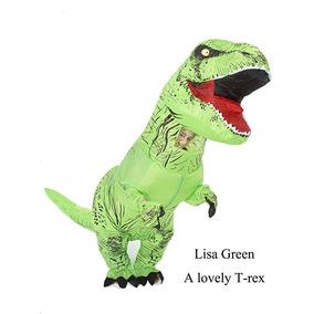 Disfraz Inflable Dinosaurio Jurassic World Verde Neg Goprime