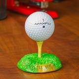 Golf Expressions Tallada Tee Off Soporte Para Exhibición ...