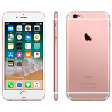 iPhone 6s Apple Tela 4,7 Hd 32gb 3d Isight 12mp 4g Ouro Rosa