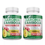 Pack 2 Garcinia Cambogia 95% Hca, - Envio Gratis ( De E.u)