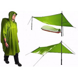 Poncho / Abrigo Impermeável Nylon 70d - Sea To Summit
