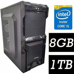 Pc Cpu Intel Core I5 + 8gb+ 1tb Limpa De Estoque.