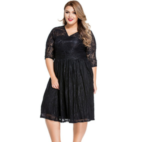 Vestido Con Encaje - Vestidos Midi de Mujer en Mercado Libre México 96ff38125026