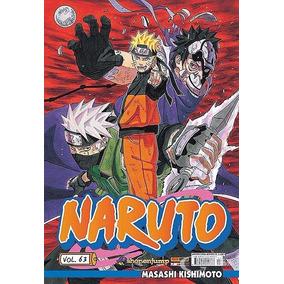 Manga Naruto Varios Volumes (usado) Panini - Frete Gratis