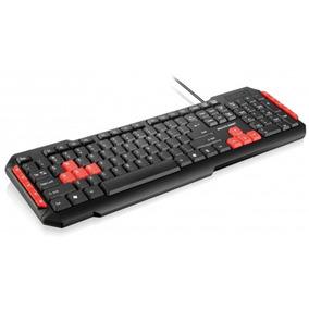 Teclado Gamer Multimídia Usb Red Keys Multilaser - Tc160