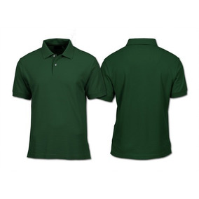 Camisa Polo Masculina Lisa Pronta Entrega Para Uniforme