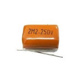 2 Capacitor Bipolar 2,2uf Para Super Tweeter