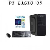 Computadora I3 8100, Ram 8gb Ddr4, Disco 1tb