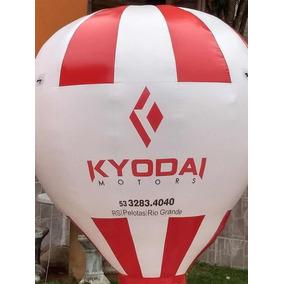 Balão Inflável Propaganda Com Motor 3 Mts
