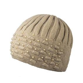 Sombrero De Gorrita Tejida Angora Blend De Dahlia Para Mujer 9dae2df7e89