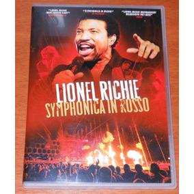 Dvd - Lionel Richie- Symphonica In Rosso - Live - Raro