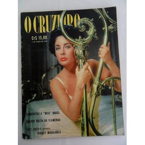 Revista O Cruzeiro 1960 Candidatas Miss Brasil, Lis Taylor