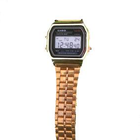 3eaa136110ca Casio Retro Gold - Relógios De Pulso no Mercado Livre Brasil