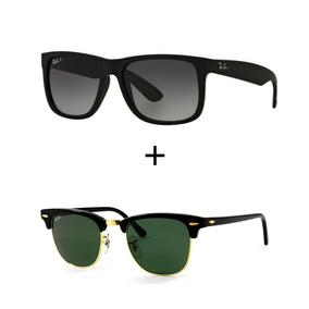 Oculos Ray Ban Feminino Clubmaster - Óculos De Sol no Mercado Livre ... 4697db7f4f