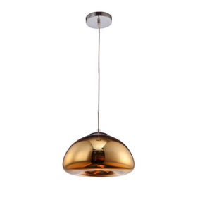 Lampara Colgante Decorativa Drop Gd 40w Aluzar