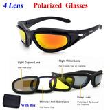 Óculos Daisy C5 Polarizado Airsoft Tático Militar P cdd62113a8