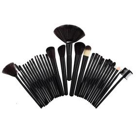 32 Pinceis De Maquiagem Profissional - Maquiagem no Mercado Livre Brasil 686c271164