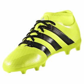 c9b46d6745 Chuteira Da Adidas Campo Ace 15.3 Preta - Chuteiras Amarelo no ...