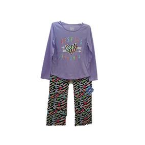 Pijama 2 Pzas Sleep On It Niña Talla M 10/12
