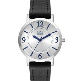 6a5ca4219d2 Relógio Dumont Feminino Prata Azul Corino Nfe Du2035lwc 2p