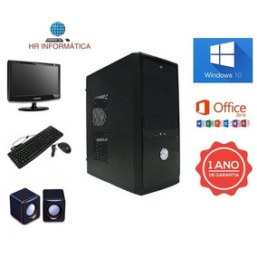 Cpu Completa Core2duo / 2gb Ddr3 / Hd 160 / Dvd / Wifi /nova