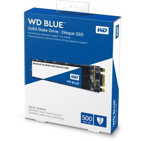 Ssd M.2 500gb Western Digital Blue 3d Nand Wds500g2b0b M2