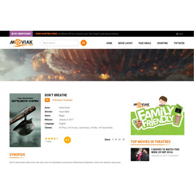 Tema Site Wordpress Para Site De Filmes