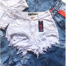 Short Jeans Branco-34-36-42