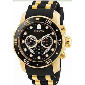 Relogio Invicta Pro Diver 6981 Dourado Masculino