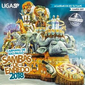 Carnaval De São Paulo - Sambas De Enredo 2018