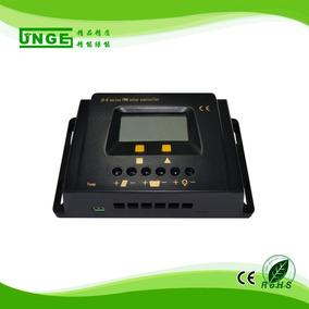 Controlador Carga Solar 30a 12/24v Carga Inteligent Bateria