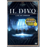 Dvd Il Divo Live In London - Original Novo Lacrado Raro!