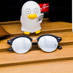 fb48cf70ab Ray Ban Clubround Marrom Espelhado - Óculos no Mercado Livre Brasil