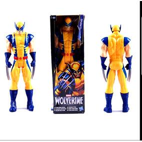 Boneco Wolverine Hasbro 30cm Com Caixa Pronta Entrega