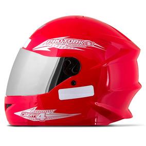 40b8a9452275c Vermelho Cromado - Capacetes para Motos no Mercado Livre Brasil