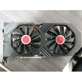 Placa De Vídeo Xfx Amd Rx 580 8gb 256bits Memoria Samsung