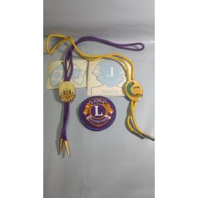 Pins Broches Usados Antigos Lions International